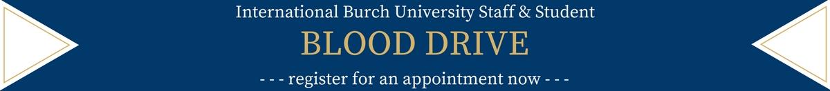 Blood Drive web site banner